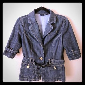 Denim Willi Smith Button up top